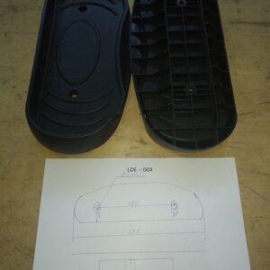 педали для эллиптического тренажера LDE004